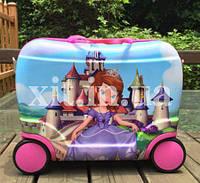 Детский чемодан-каталка София