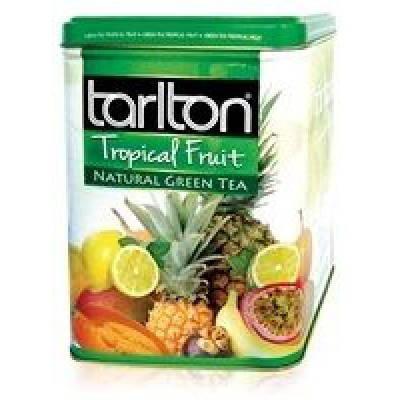 Чай Tarlton Тропические фрукты  250 гр ж/б, фото 2