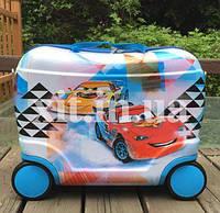 Детский чемодан-каталка Маккуин, фото 1