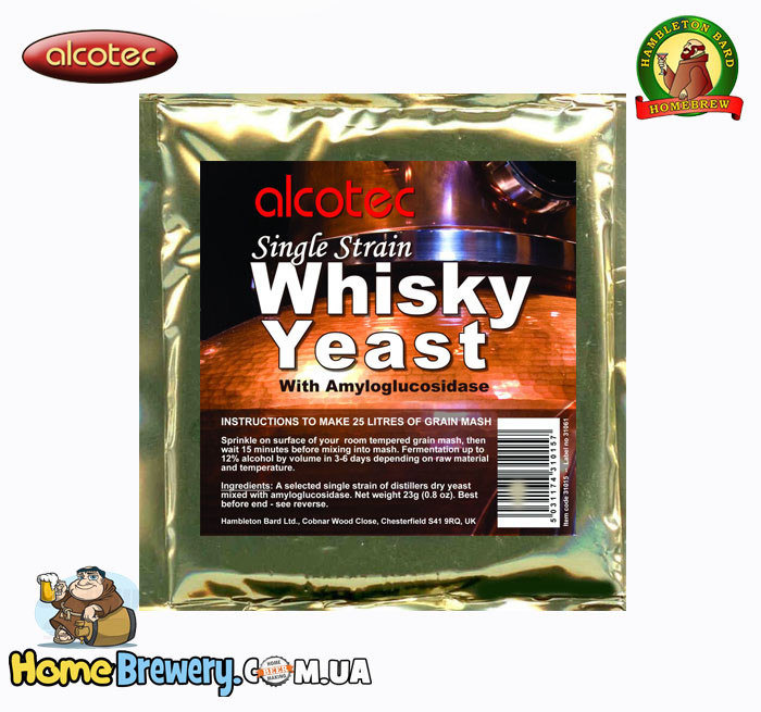 Дрожжи для виски Alcotec Single Strain Whisky Yeast