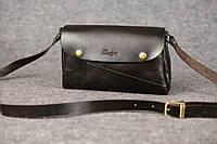 Кожаная женская сумка Kiki | Италия Кофе, фото 1