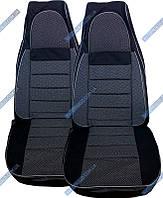Авточехлы для салона ВАЗ 2108-2109-21099 (Пилот тк, серые)