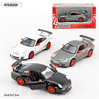 Моделька kinsmart 2010 porsche 911 gt3 rs