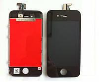 Дисплей экран с тачскрином, сенсором Apple iPhone 4, 4G черный