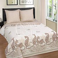 Мэри, постельное белье с кошками из поплина (100% хлопок)