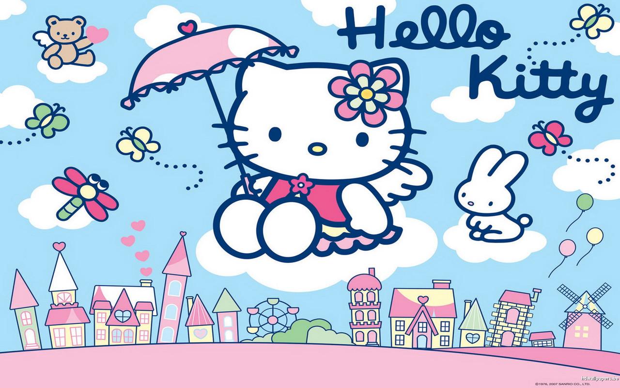 Сахарная картинка Hello Kitty, для торта