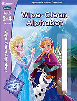 Frozen. Wipe-Clean Alphabet Ages 3-4