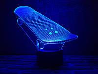 """Сменная пластина для 3D ночника """"Скейт"""" 3DTOYSLAMP, фото 1"""