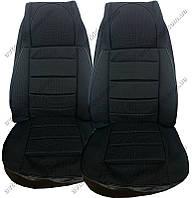 Авточехлы на сидения ГАЗ 2410, 31029, 3110, 31105 (Пилот, серый)