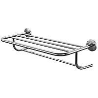 Полка для ванной под полотенца BISK 02543 Chrom