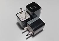 Адаптер питания TYL-0218, 220V-5V/2A, USBх2 ADAPTER (500mAh по факту), фото 1
