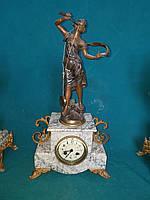 Часы каминные Австрия  19 век