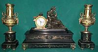 Часы каминные Бельгия  19 век