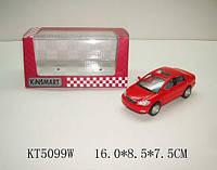 Моделька kinsmart toyota corolla