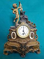 Часы каминные  19 век Нидерланды