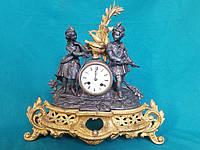 Часы каминные Охотники  19 векГермания