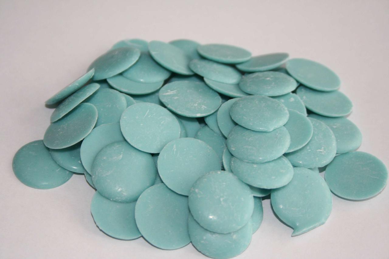 Диски шоколадные Синие, 100гр.