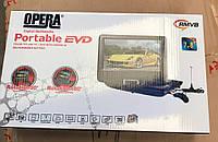 Портативный DVD плеер PORTABLE EVD 7.8, Портативный DVD плеер Opera, DVD в автомобиль,