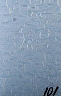 Вертикальные жалюзи 89 мм ткань Аврора Голубой