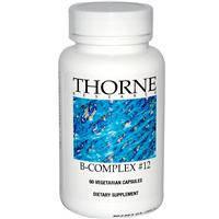 Комплекс витаминов группы B 12, Thorne Research, 60 капсул