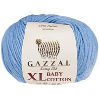 Пряжа GAZZAL Baby cotton XL 3423 (Газзал Беби КотонXL) голубой
