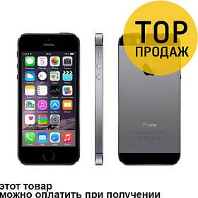 Apple iPhone 5S 16 Gb Space Gray / Мобильный телефон, смартфон, Айфон 5S Серый