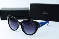 Солнцезащитные очки Dior синие, фото 1