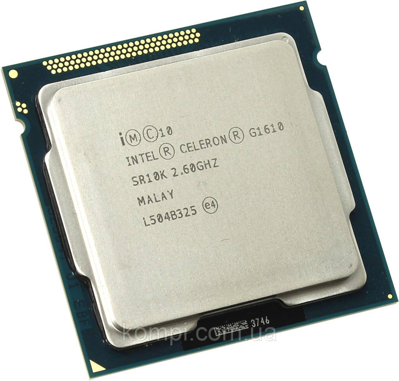 Процессор Intel  Celeron® G1610 s1155