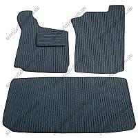 Текстильные коврики в салон и багажник Smart ForTwo, 3шт. (Korona)