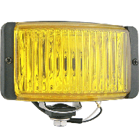 Противотуманные фары Wesem 2HMz 199.73 138х78mm ближний желтый герметичные 2 штуки