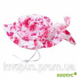 """Шляпка-панамка для девочки """"Афродита"""", Jamiks, Польша, 48 см."""