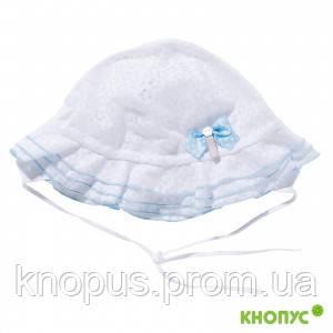 Шляпка-панамка для девочки на завязках, Jamiks, 44 см, 48 см, 50 см