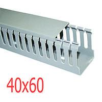 Перфорированный кабельный канал  40x60 ТМ 220