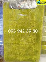 Набор ковриков для ванной и туалета 80*50 (салатовый)