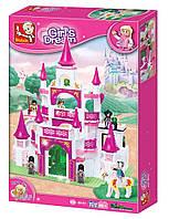 "Конструктор Sluban M38-B0151 ""Замок для принцессы"", 508 деталей, фото 1"