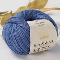 Пряжа GAZZAL Baby cotton XL 3431 (Газзал Беби КотонXL) джинс