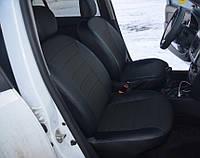 Авточехлы для Renault Logan 2013->, Экокожа, L-line
