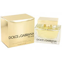 Женский парфюм Dolce&Gabbana The one (Дольче Габбана Зе Ван) 75ml