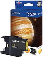Картридж BROTHER LC-1240Y Yellow