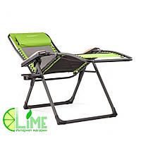 Шезлонг-кресло алюминиевый, Кемпинг