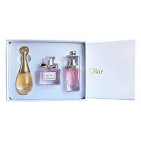 Подарочный набор парфюмерии Christian Dior 3x30ml