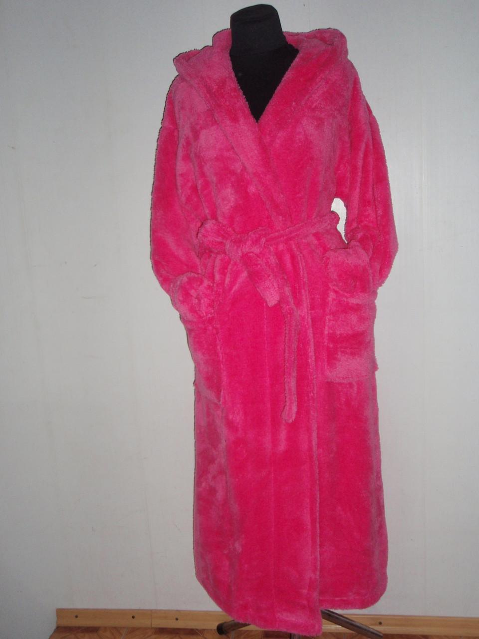 346e17170bb1 Халат женский,пушистый.длинный с капюшоном.Massimo Monelli. пр-во Турция.,  цена, купить в Харькове — Prom.ua (ID#31184846)