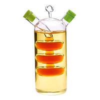 Бутылка для масла и уксуса 2 в 1 Fissman 50/350 мл. (Стекло)