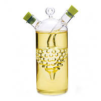 Бутылка для масла и уксуса 2 в 1 Fissman 50/320 мл. (Стекло)