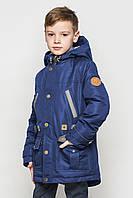 """Демисезонная удлиненная куртка для мальчиков """"Дэн"""", фото 1"""