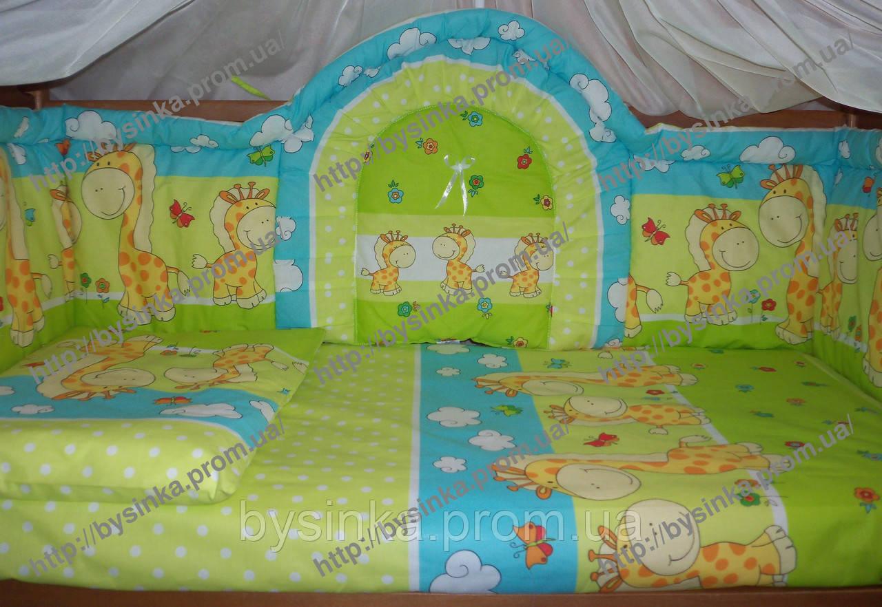 Высокая защита в кроватку новорожденного.