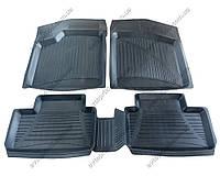 Резиновые коврики в салон ВАЗ 2108-2109-21099 (Interplast)