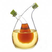 Бутылка для масла и уксуса 2 в 1 Fissman 75/350 мл. (Стекло)