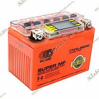 Аккумулятор (мото, скутер) YTX4L-BS 12V 4Ah OUTDO (iGEL), фото 1
