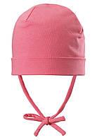 Демисезонная шапка бини для девочек Reima Huvi 518456-3290. Размеры 44-54.